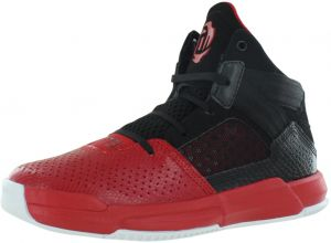 separation shoes f32c2 7cb7c adidas D Rose 773 IV Athletic Shoes for Boys, Black Red