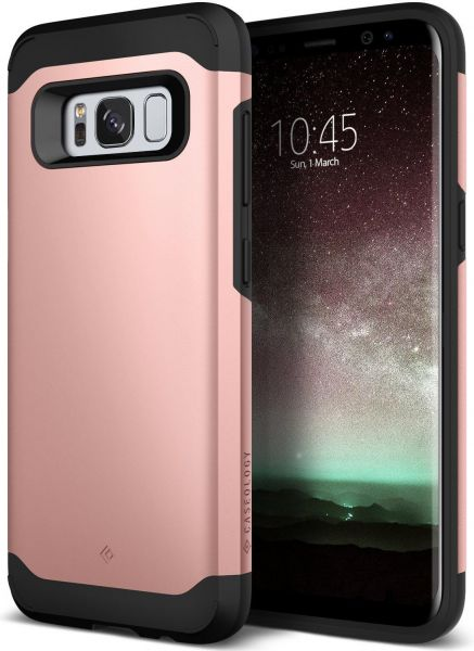 sale retailer 67947 a2964 Samsung Galaxy S8 Case Cover , Caseology , Slim Armor with Slim Dual Layer,  Rose Gold
