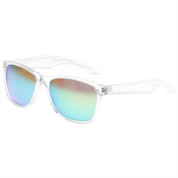 de64f072c9 O Neill SHORE Unisex Polarized Sunglasses-Gloss Clean Crystal Frame Lime  Mirror Lens ONSHORE-109P