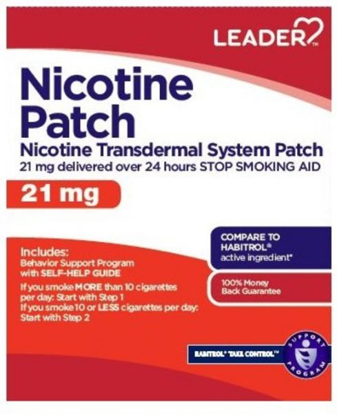 Test Dosage Patch Nicotine