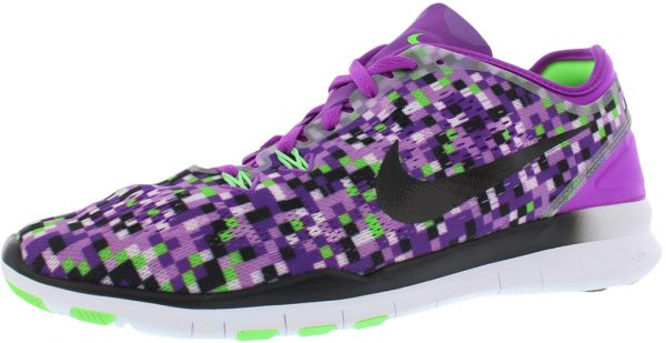 58e761b48c57 Nike Free 5.0 Tr Fit Print Running Shoes for Women