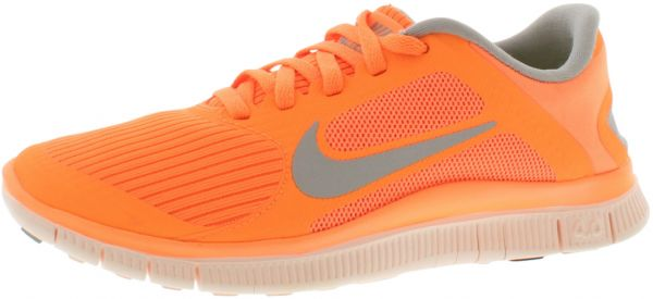 Nike Free 4.0 V3 Running Shoes for Women, Atomic OrangeBase Grey