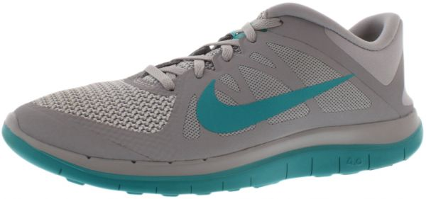 Nike Free 4.0 V4 Running Shoes for Women, Wolf GreyTurbo GreenWhite
