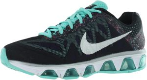 nike tailwind 7 running shoes for women black reflect silver hyper jade