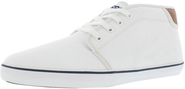 4fea036ae Lacoste White Fashion Sneakers For Boys