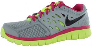 sports shoes 09a98 c82df Nike Flex 2013 Running Shoes for Women, Wolf Grey Pink Lime