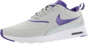 buy popular cfa12 372f4 Nike Air Max Thea Running Shoes for Women, Silver Wing Court Purple Pure  Platinum