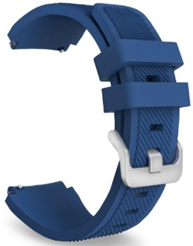 Gear S3 Frontier / Classic Watch Band, Soft Silicone Replacement Sport Strap for Samsung Gear S3 Frontier / S3 Classic / Moto 360 2nd Gen 46mm Smart Watch, DARK BLUE