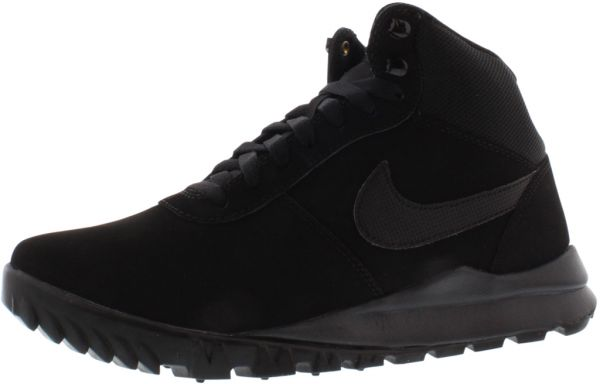758ed5653 Nike Hoodland Suede Running Shoes for Men, Black/Black-Anthracite ...