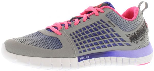 a9491c6b8cfb4 Reebok Z Quick Electrify Running Shoes for Women - Grey Purple Pink White.  by Reebok
