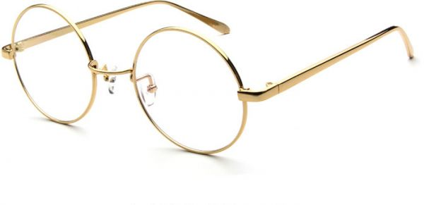 372b0997e1 The metal frame without degree of flat mirror Unisex circular frame  lightweight frame trgc028