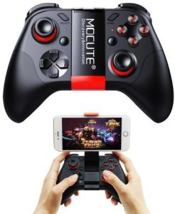 Bluetooth Gamepad Crystal Button Android Joystick PC Wireless Remote Controller Game Pad for Smartphone for VR TV BOX