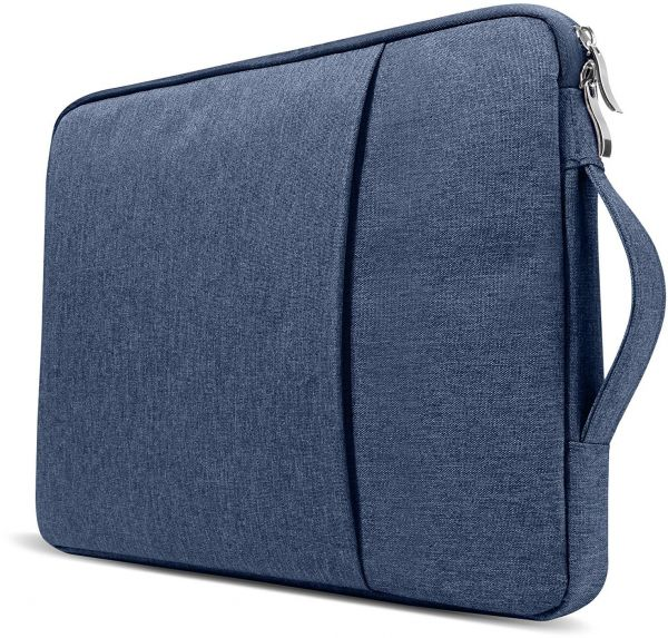13.3 inch Water Repellent Laptop Sleeve with Handle and Pocket for Macbook Air Pro Retina & other Laptop Notebook (Dell HP ASUS Lenovo Acer)