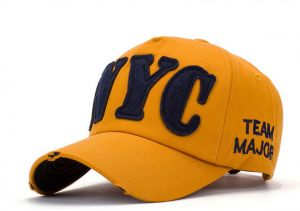 77db4980886 Yellow Baseball   Snapback Hat For Men