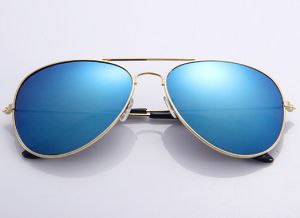 4a397f7691f Fashion Oval Gold Plated Frame Sunglasses for Men and Women