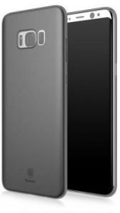 Samsung Galaxy S8 Plus Baseus Wing Series Ultra Thin Black Transparent Back Protective Case