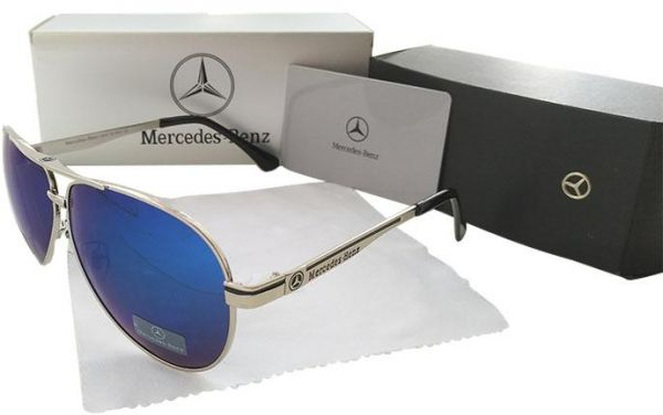 32cde4154a9 Mercedes-Benz Golden Polarized Sunglasses