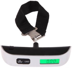 7f8fcbcb7c2a 50kg/10g LCD Digital Electronic Hanging Scale Portable Travel Suitcase  Luggage Scales Travel Bag Mini Pocket Weight Belt Scales