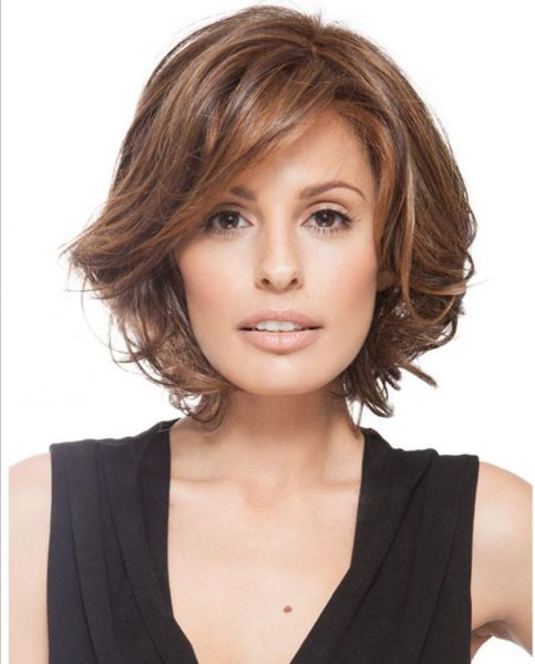 Middle Aged Short Hair Female Sexy Wig 35cm Souq Uae
