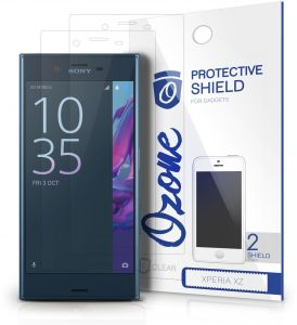 Ozone Sony Xperia XZ Crystal Clear HD Screen Protector Scratch Guard (Pack of 2)