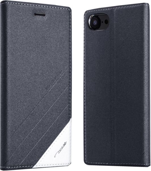 new products 78269 624c5 Flip cover for OnePlus 5 Smart Sleep Slim leather case anti fall protective  sleeve Black