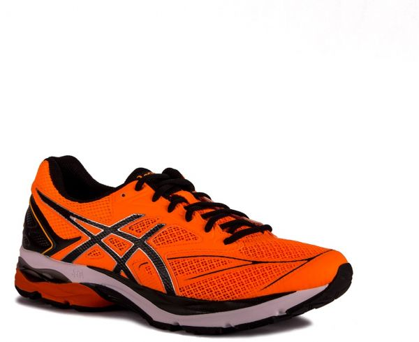 Asics Running Shoes For Men, Orange,Size 43.5