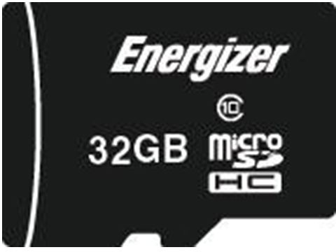 Energizer 32 GB Micro SD High Capacity Card - FMDAAC032A