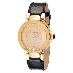 9272c9e2c7224 Versace Women s Gold Dial Leather Band Watch - VNC280016