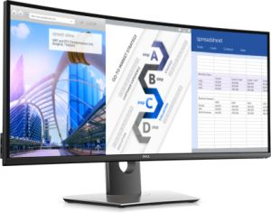 dell curved monitor 38