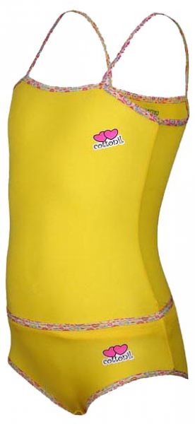 09c362ed6586 Cottonil Yellow Underwear Set For Girls | Souq - Egypt