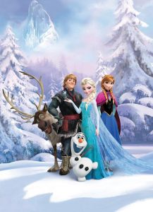 wallpaper snow queen frozen cartoon 3d  KSA  Souq