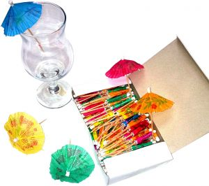 f2c9e005004 ProBar Cocktail Umbrella Pack - 144 Pieces Set