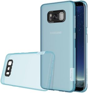Nillkin Nature Series Clear Soft TPU Case Back Cover [Ultra Thin] [Slim Fit] for Samsung Galaxy S8 Plus - Blue