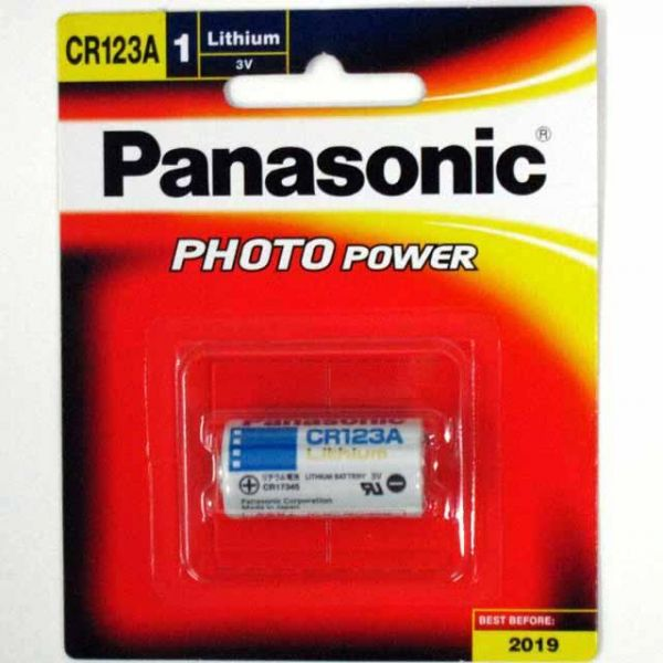 Panasonic Cr123a 3v Photo Lithium Battery Pack Of 2 Souq Uae
