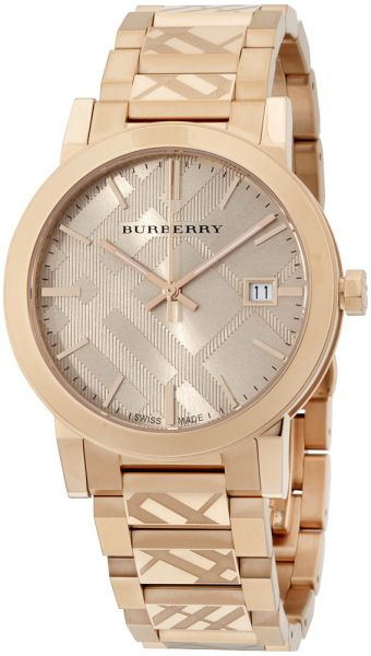promo code 6bb81 b7d0b Burberry Women s Rose Gold Dial Stainless Steel Band Watch - BU9039 ...
