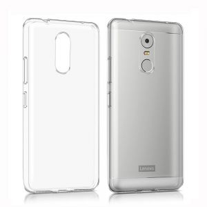 Silicone Back Case Cover By Ineix For Lenovo K6 Note - Clear