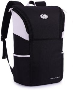 088675c902 Fashion waterproof travel bag laptop bag personality school bag outdoor sports  bag black and white