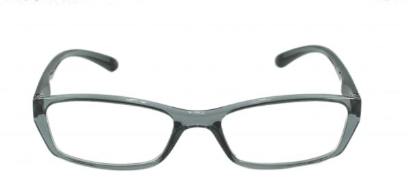 Feather Cat Eye Glass Frame For Girls Grey