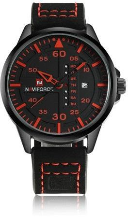 Naviforce Sport Watch For Men Analog Leather - 9074