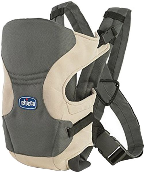 Chicco Unisex Go Baby Carrier, Grey and Beige