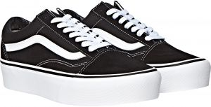 a137b15098ea Vans Old School Fashion Sneakers for Women - Black   White