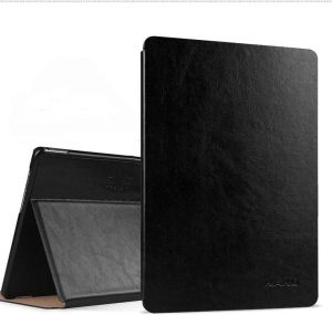 Samsung Galaxy Tab S3 9.7 Inch SM-T820/T825 Leather Case Cover - Black