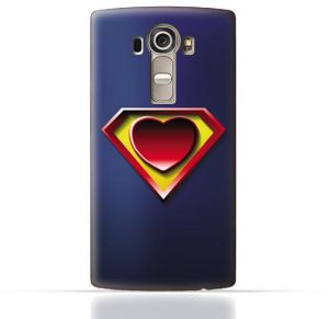 ca9cf38c06 LG G4 Stylus TPU Silicone Case With Super Heart Design