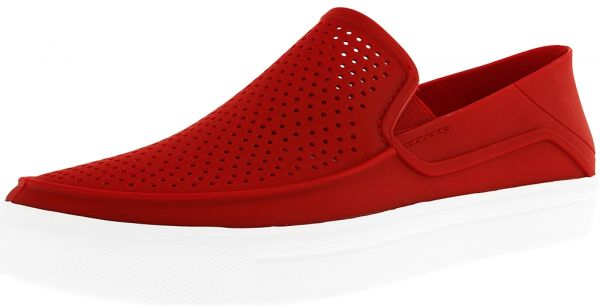Crocs Red Slip On For Men