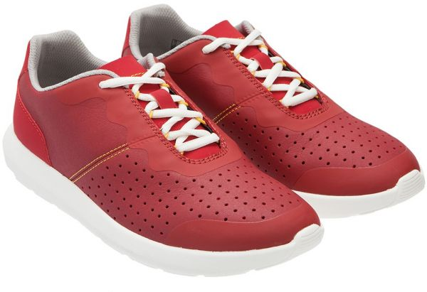 Clarks Casual Shoes for Men, Red, Size 40 EU, 26124296