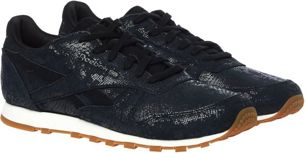 6f915697e2872 Reebok Classic Leather Clean Exotics Walking Shoes For Women