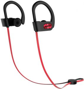 6d97927247a Mpow Bluetooth Headphones Waterproof IPX7, Wireless Headset Sport, HiFi  Stereo In-Ear Earphones w/ Mic, Case, 1.5-Hr Quick Charge for Running  Workout