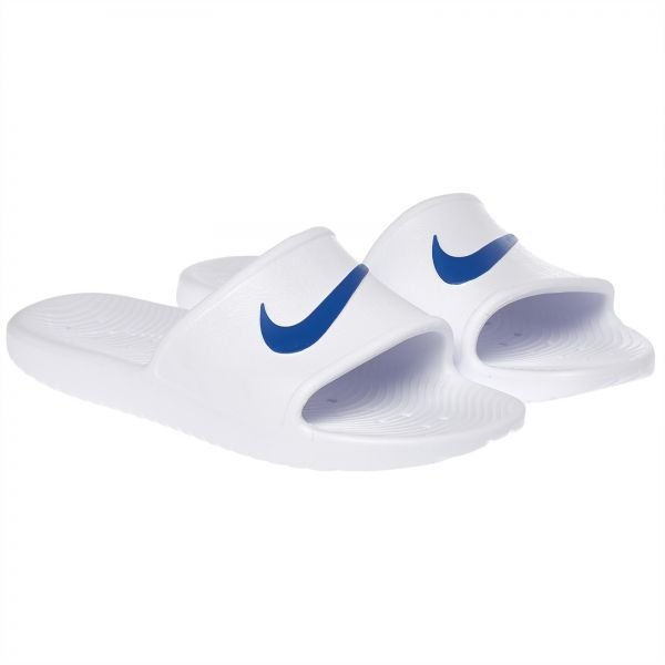 bade8908dc0bb7 Nike Kawa Swoosh Slides for Men - White