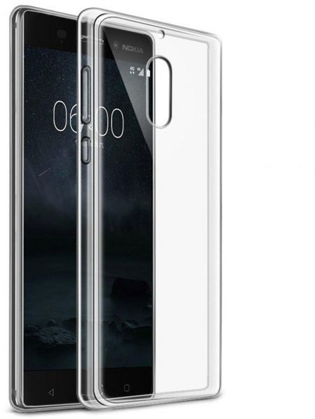 promo code d8490 da4bc Silicone Back Case Cover By Ineix For Nokia 5 - Clear