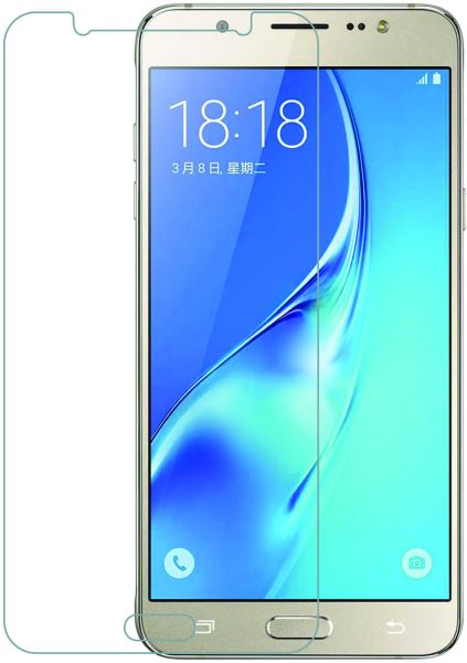 newest a2a8f a4073 Tempered glass screen protector for samsung galaxy j7 core 2.5D arced edges